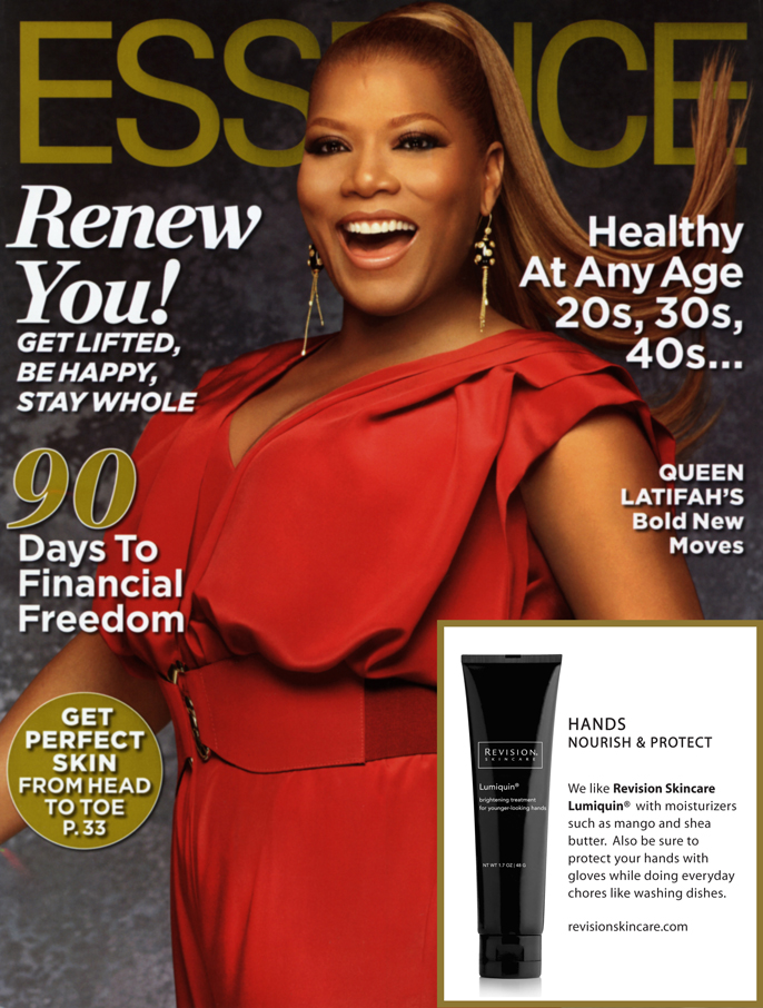 Lumiquin was picked as Essence magazine's top pick to protect and moisturize the hands this winter!