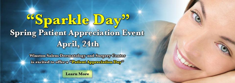 Patient Appreciation Event April, 24th at Winston Salem Dermatology!