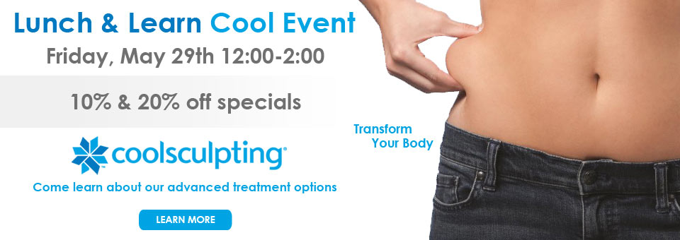 Lunch & Learn Cool Event Friday, May 29th 12:00-2:00