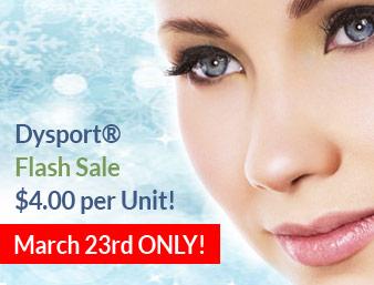 Dysport® Flash Sale Event Thursday, March 23rd!
